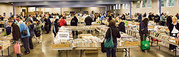 photograph of booksale 2009